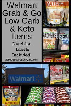 Walmart Grab and Go Low Carb Keto Items - These Walmart Grab and Go Low Carb Keto Items ideas will help when we are in a rush. The goal is to give you ideas so you can go in quickly, grab what you need and be on your way.
