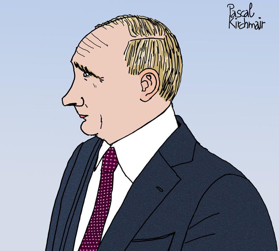 Vladimir Vladimirovich Putin Karikaturen Wladimir Putin Aussenminister