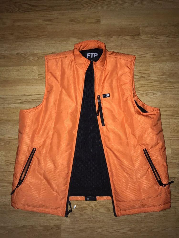 3e229a5ba FTP Woven Tape Vest Size M  fashion  clothing  shoes  accessories   mensclothing  coatsjackets (ebay link)