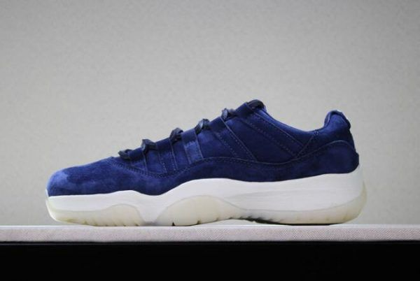 "d3732184a292f1 2018 Air Jordan 11 GS Low ""RE2PECT"" Shoes For Women in 2019"