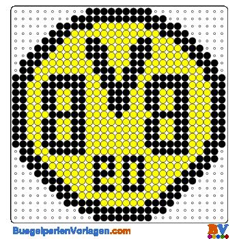 Borussia Dortmund Buegelperlen Vorlagen Web Png 350 350 Bugelperlen Vorlagen Bugelperlen Bugelperlenvorlagen