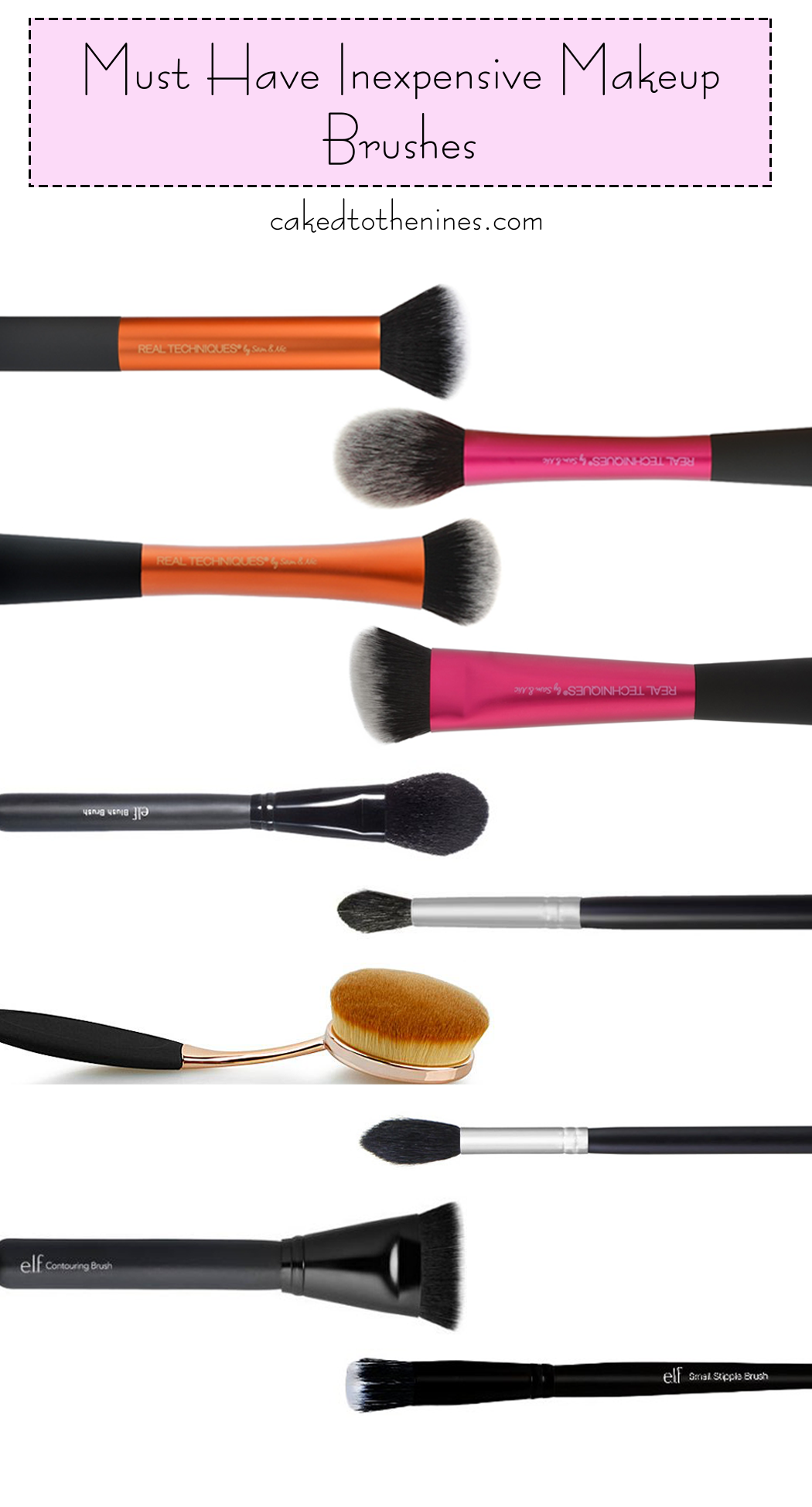 10 Must Have Inexpensive Makeup Brushes Makeup brush set