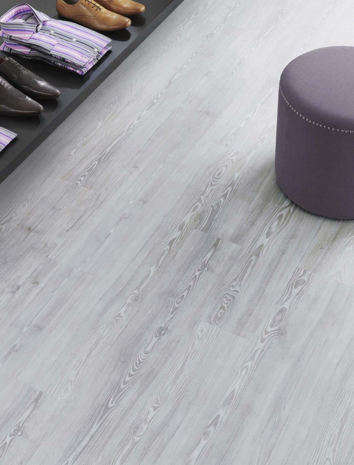 Pvc Floor Covering Strip Not Specified Smooth Spacia White Ash Ss5w2540 Amtico International