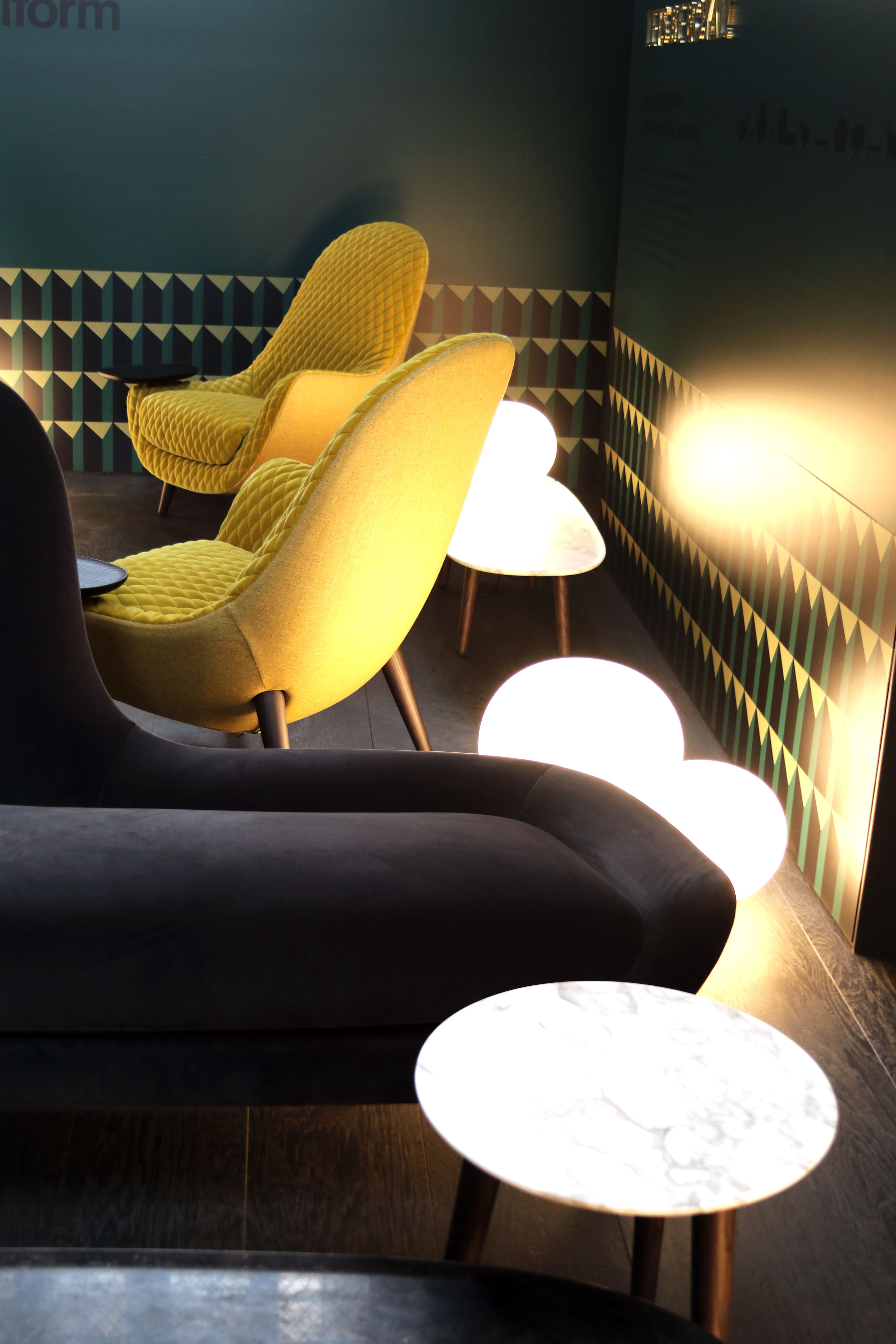 italian furniture company. Poliform, The Italian Furniture Company And Superyacht Industry Regular, Was In Attendance, For