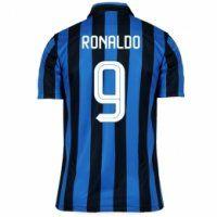 Inter Milan 2015-16 Season Home Ronaldo  9 Soccer Jersey Camisetas De  Fútbol d6390b3b0b739