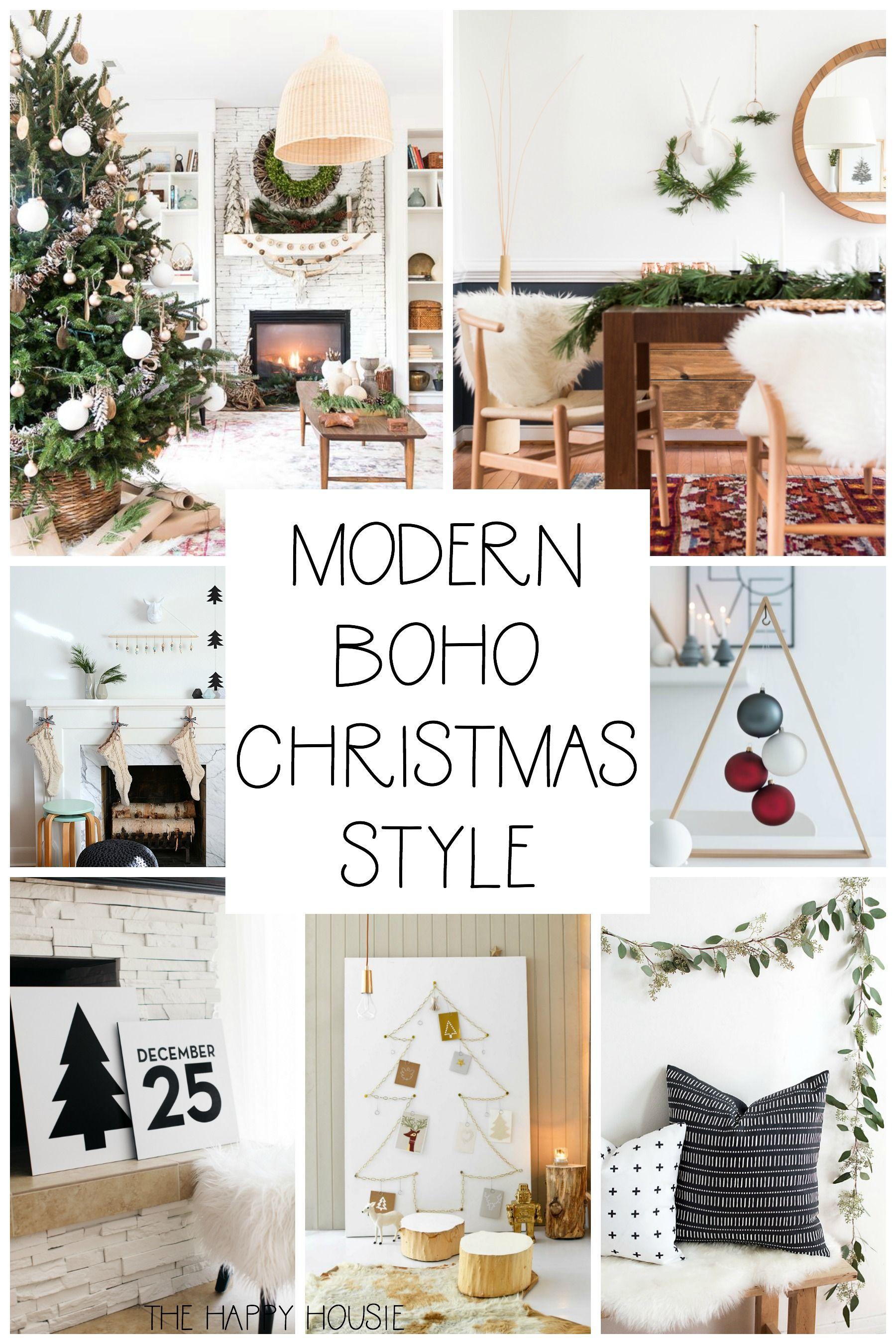Photo of Modern & Boho Christmas Style Series | The Happy Housie