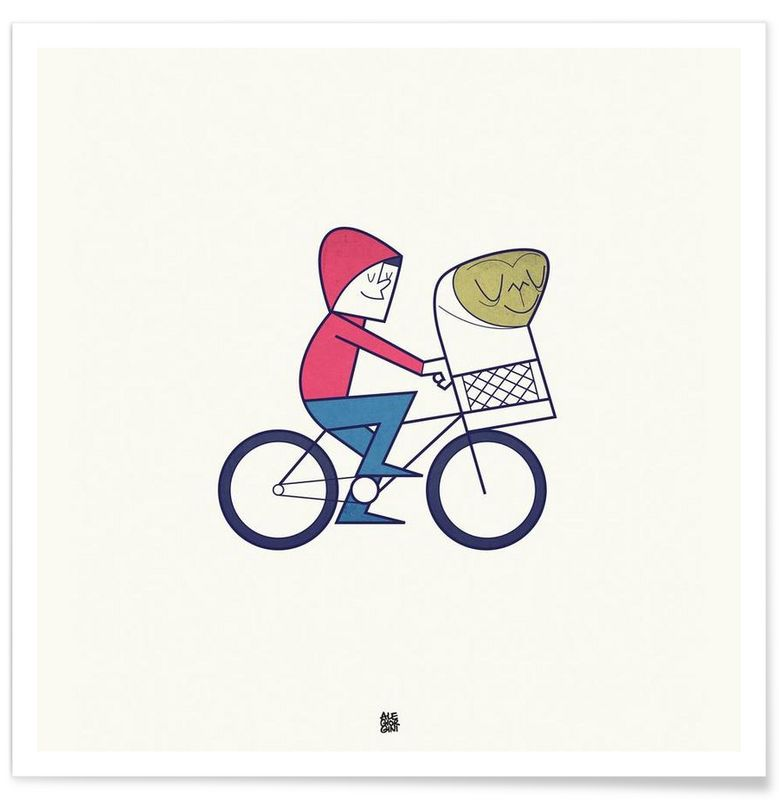 I believe in you als Premium Poster door Ale Giorgini | JUNIQE