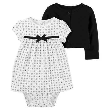 1d58a7cabe3ce Baby Girls' 2 Piece Dress Set Black Dot - Just One You™Made by ...