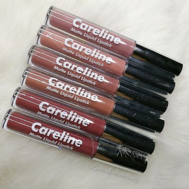 Pinay Beauty and Style: NEW Careline Matte Liquid Lipstick Swatches + Mini Review! ft LunaLinaBeauty
