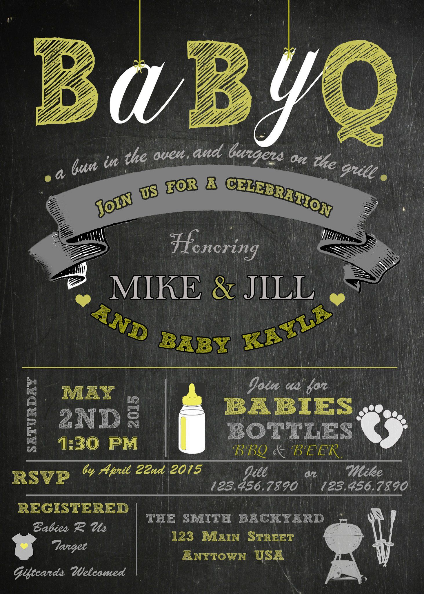 BBQ Baby Shower Invitation Baby Shower Invitations For Boys, Baby Boy Shower,  Bbq,