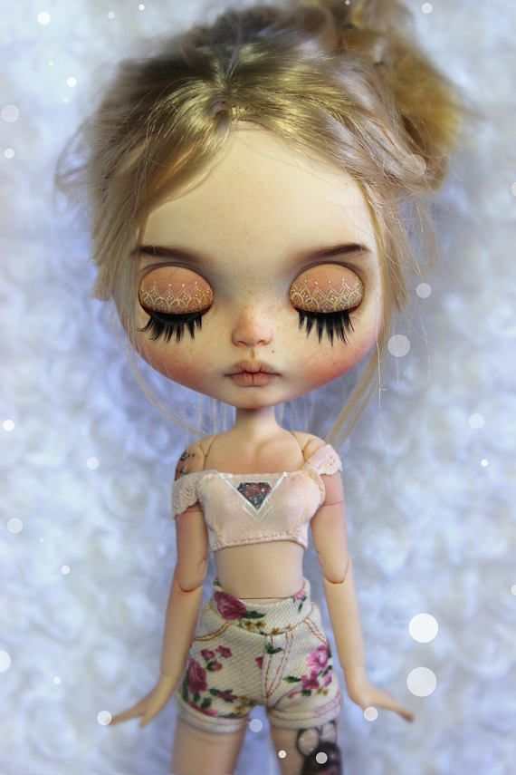 RESERVED for Patricia Prisce Custom Blythe Doll