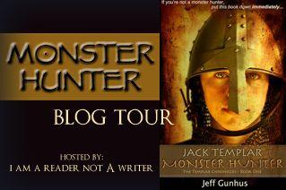 Jack Templar Monster Hunter Book Blast The Review Wire Monster Hunter Blog Tour Books