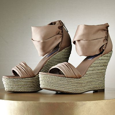 ae962d3b885 Jennifer Lopez Platform Wedge Sandals - too bad they don't come in ...