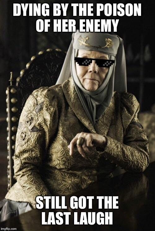 Reddit The Front Page Of The Internet Game Of Thrones Costumes Olenna Tyrell Game Of Throne Actors