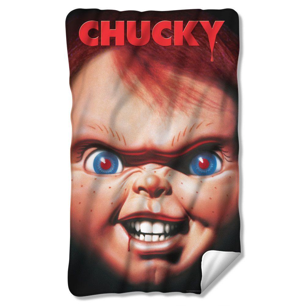 Poster Fleece Blanket Chucky, Horror, Kids playing