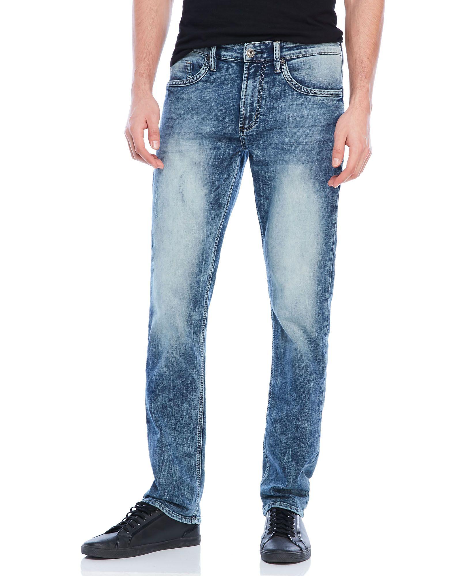 Buffalo David Bitton Ash-X Basic Skinny Stretch Fleece Jeans
