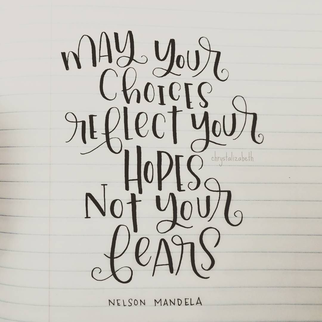 May Quotes For Inspiration: May Your Choices Reflect Your Hopes, Not Your Fears