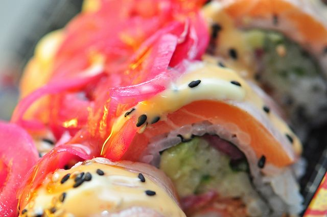 Oh man, now I'm hungry    http://www.sushi-selber-machen.org