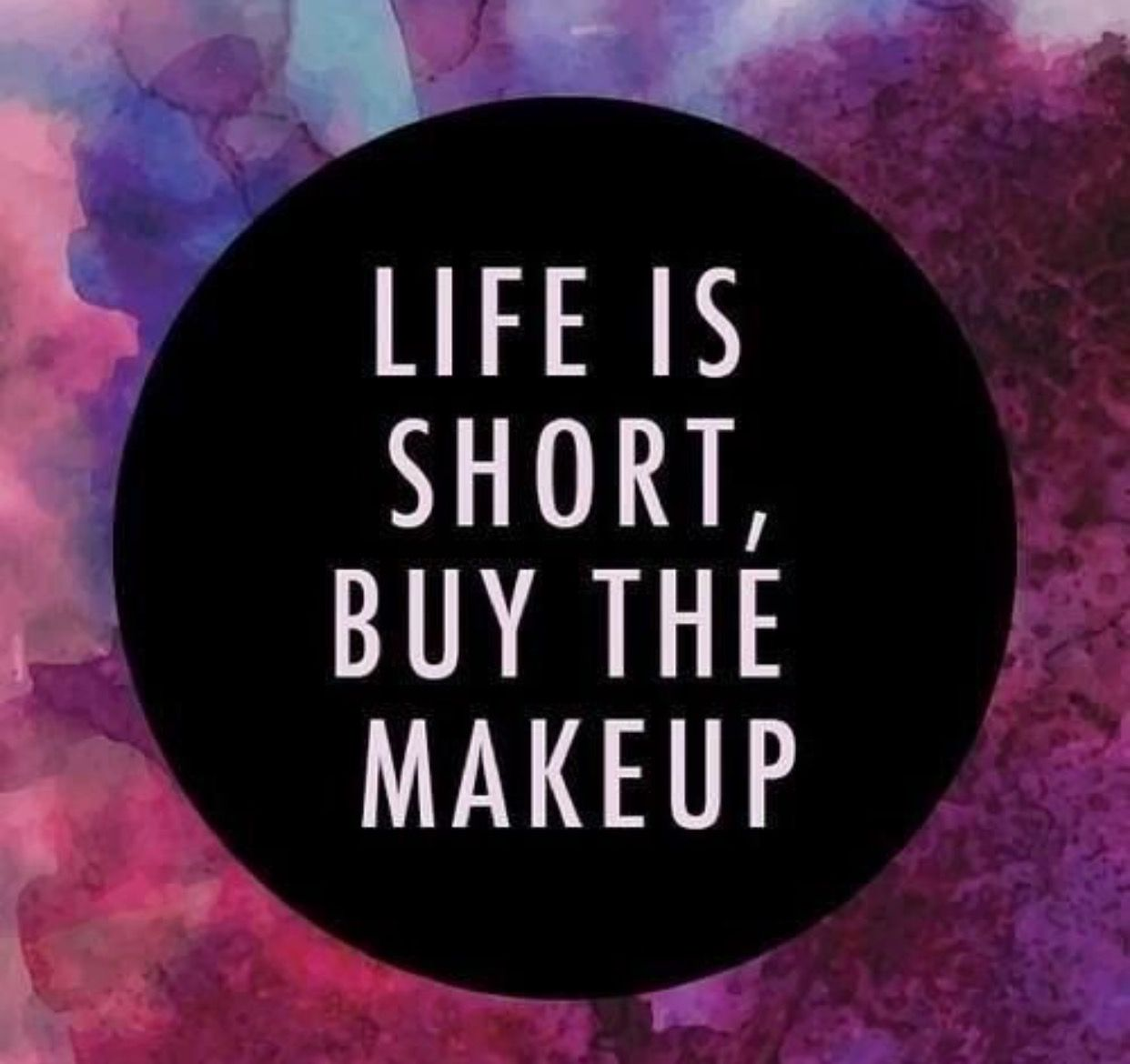 Life's to short ladies! Try Younique out, you won't regret it