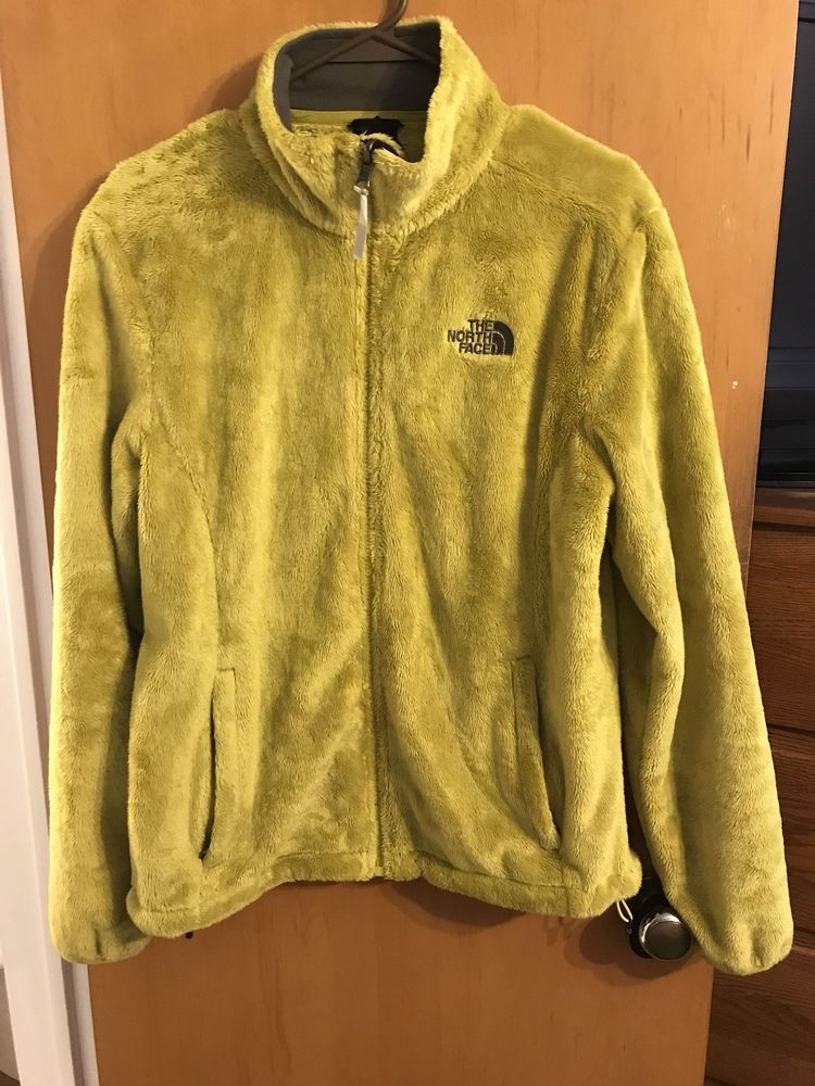 4d504a2f3 Details about The North Face Womens Hooded Fleece Jacket Size Medium ...