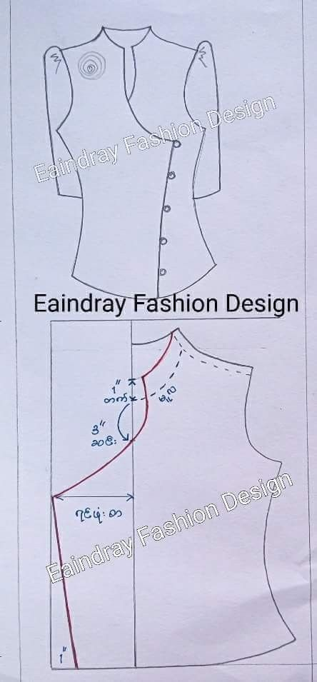 Chinese Blouse Sewing Patterns Pinterest Patterns Sewing