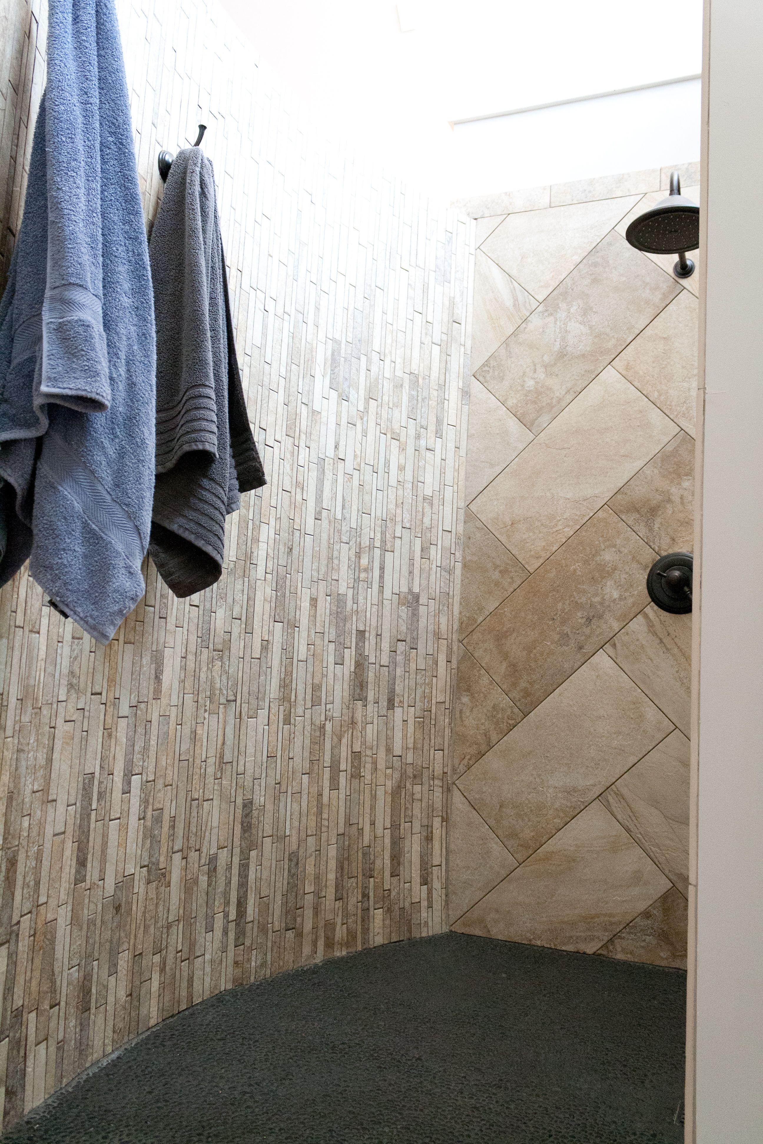 Result Shower Micro Pebble Floor Epoxy Grout Porcelain Tile Pebble Floor Porcelain Tile Epoxy Grout