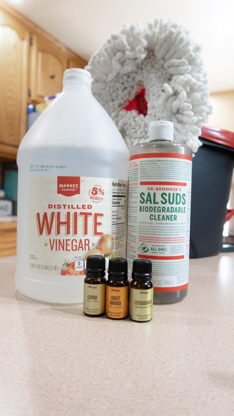Homemade Floor Cleaner (Great For Tile, Wood, Or Laminate