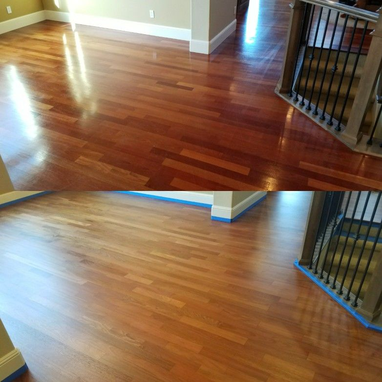 Top 3 1 4 Inch Brazilian Cherry Hardwood Aged With Semi Gloss Finish Bottom What It Looks Like Cherry Hardwood Brazilian Cherry Floors Cherry Floors