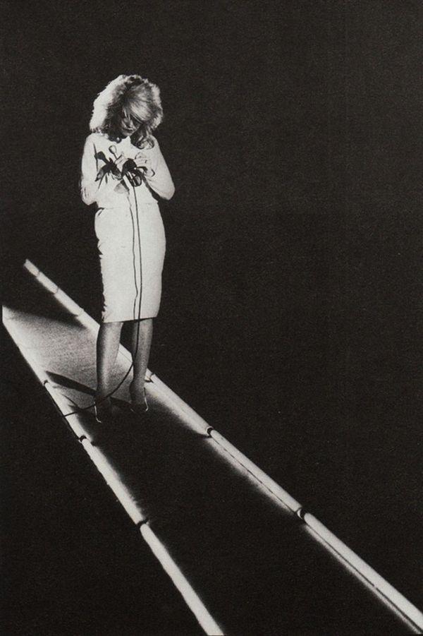 Debbie Harry, 1978 - noir et blanc