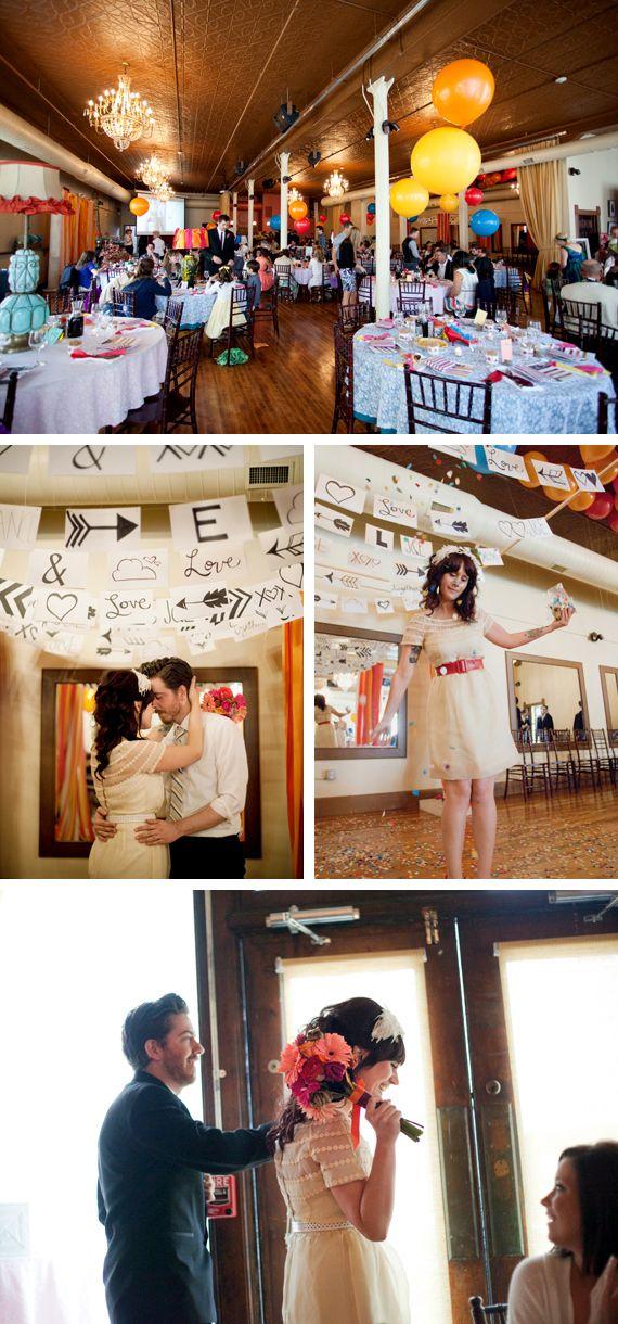 Handmade Weddings: In Fine Feather
