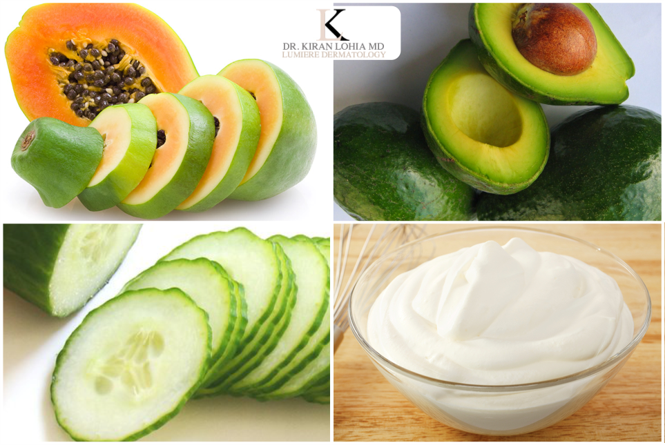 Home Remedies for a Radiant glow with Fruit Pack  A #fruitpack will add a #glow on your skin that you always wished for .Take the pulp of #papaya, #avocado, and #cucumber and mix well. Add 2 tablespoons of cream in it to make a smooth paste and apply it on the face. Leave this pack for 20 minutes. Next, rinse thoroughly with lukewarm water.