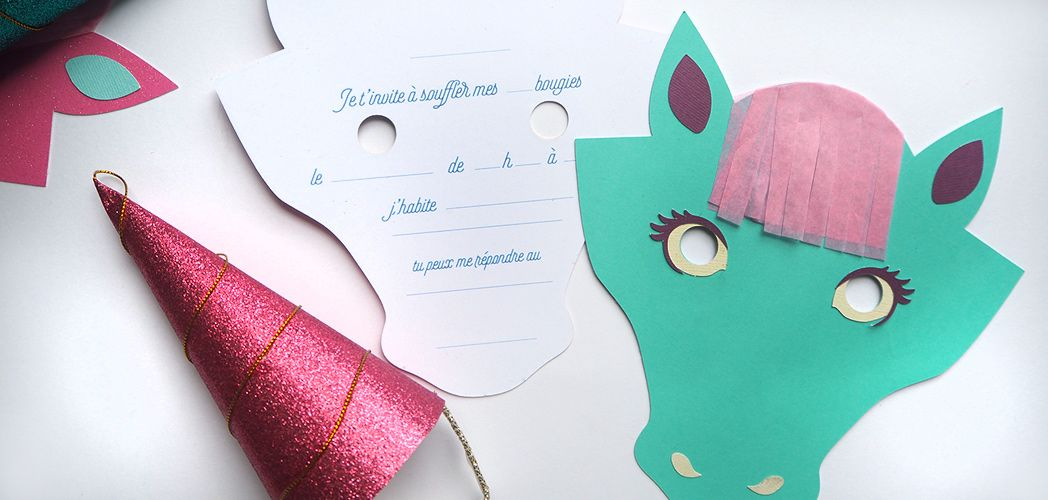 L Invitation Licorne Printable Invitations Licornes