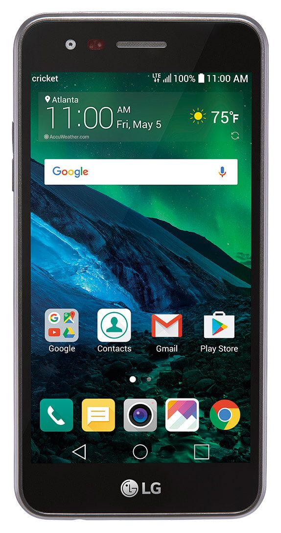 Cricket Wireless Now Selling Lg Fortune For 89 99 Android