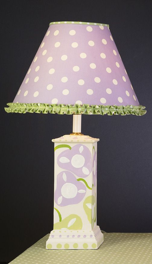 Flower Table Lamp Baby And Kids Lighting By All Lamps Nursery