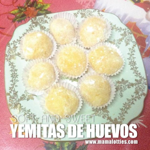 Yemitas de Huevos   Mama Lotties - Gibraltar's Recipe Website