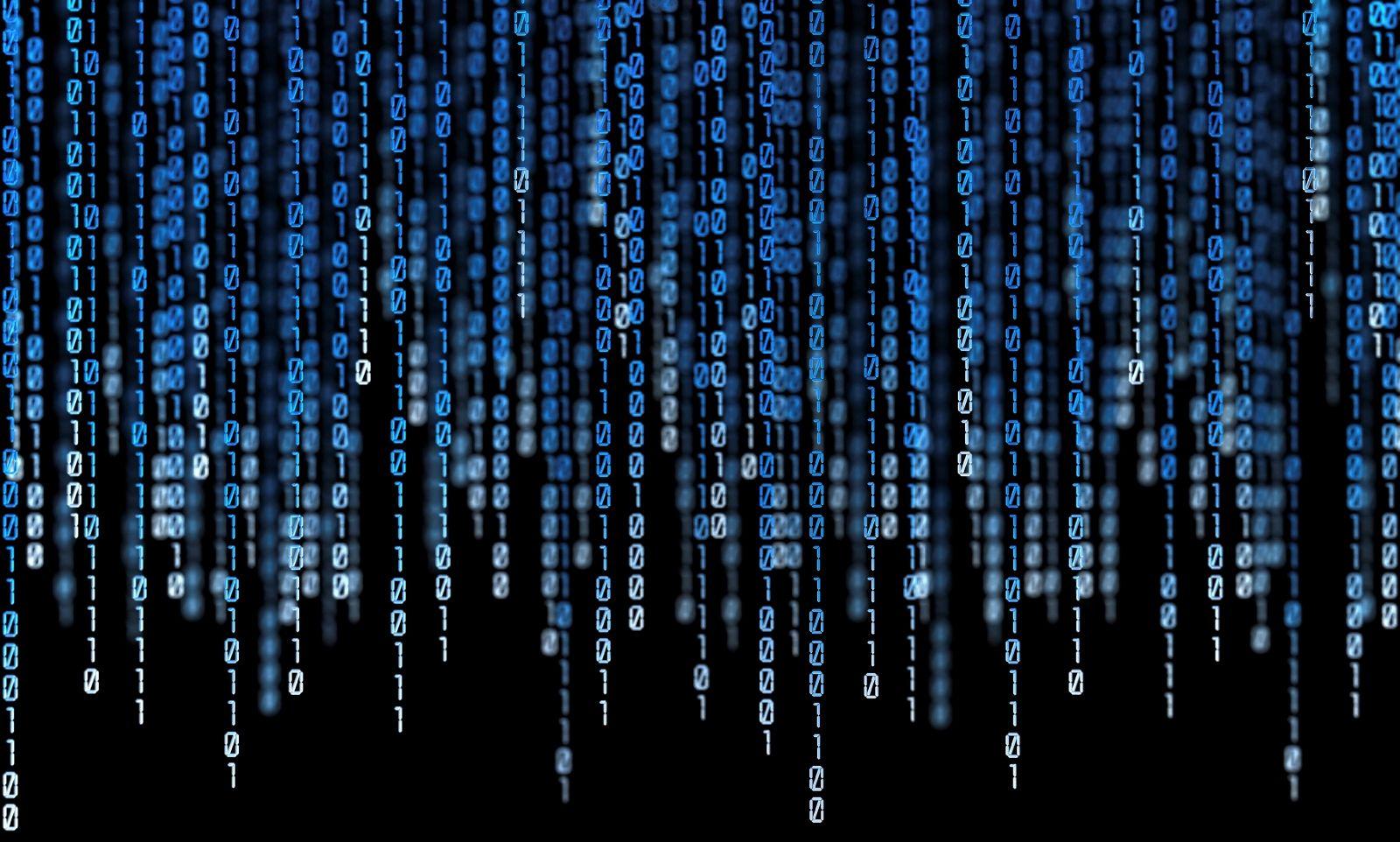 Big Data Stream Wallpaper Technology Wallpaper Code Art