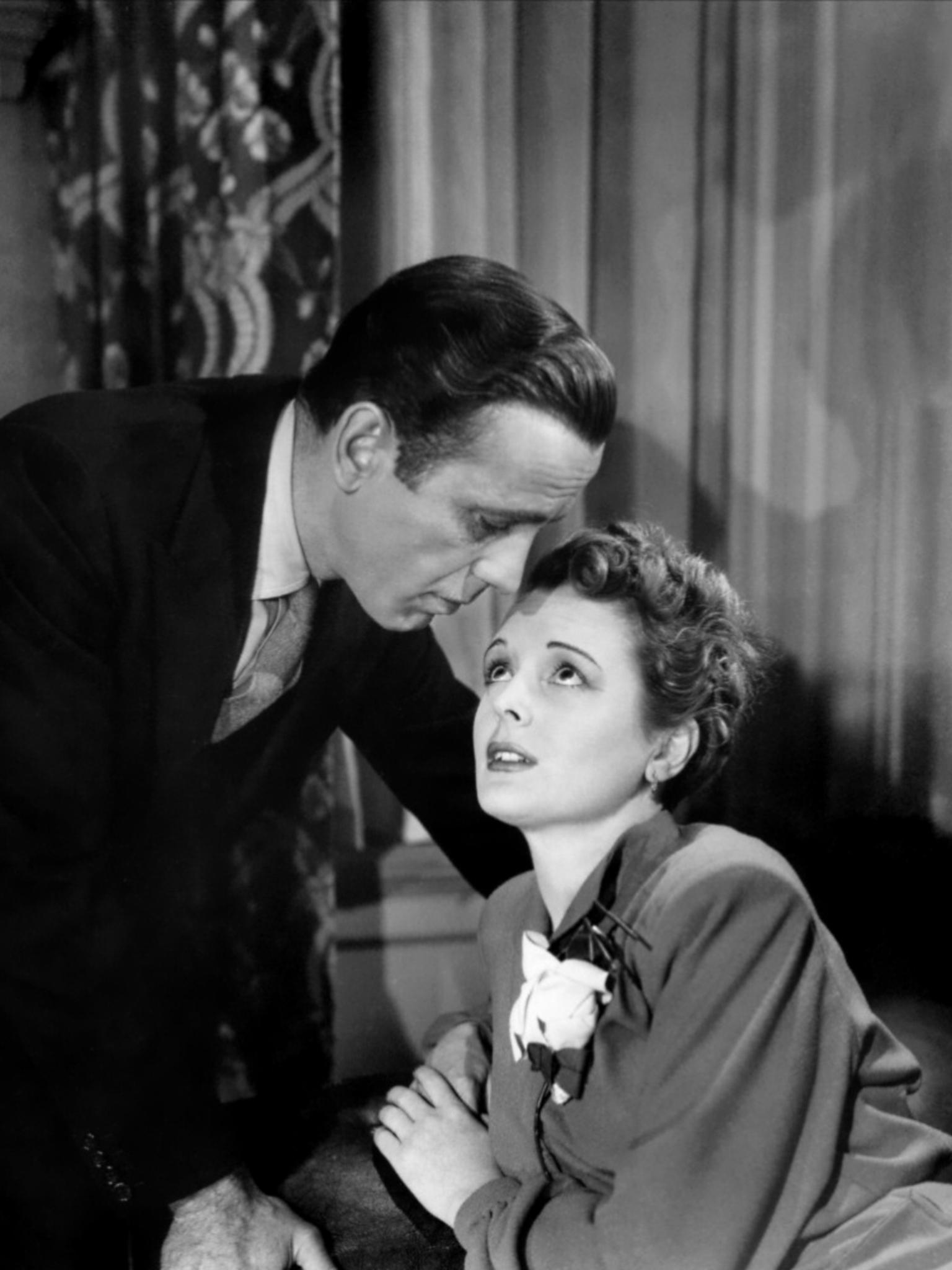 Humphrey Bogart And Mary Astor The Maltese Falcon 1941 Mary Astor Humphrey Bogart Bogart