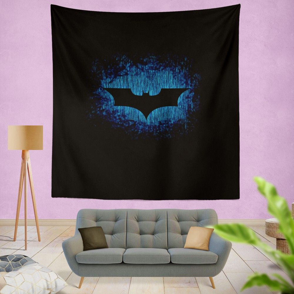 Custom Personalized Tapestry Wall Hanging Home Decor Batman