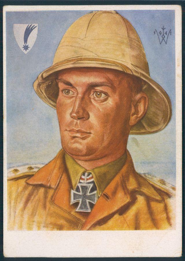 Willrich Knight's Cross winner Major Gericke