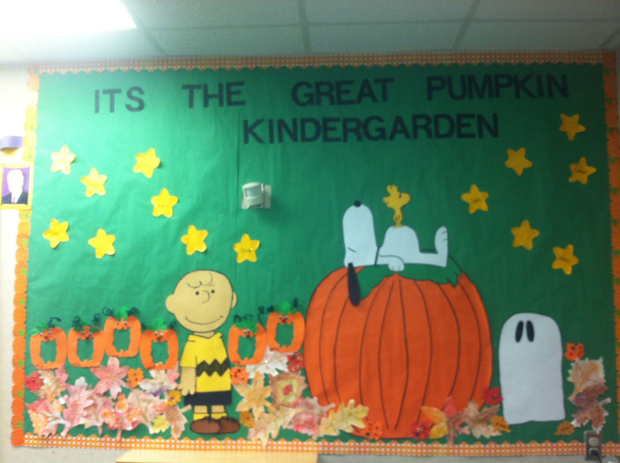 The great pumpkin board