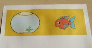 Le taumatrope illusion d 39 optique pour enfant id es for Bocal plastique poisson
