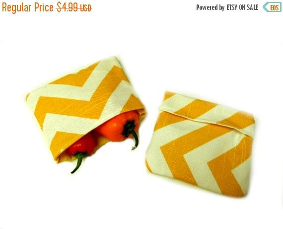 FLASH SALE 75% Off Snack Bags Reusable Waste Free by IndiPatterns ...