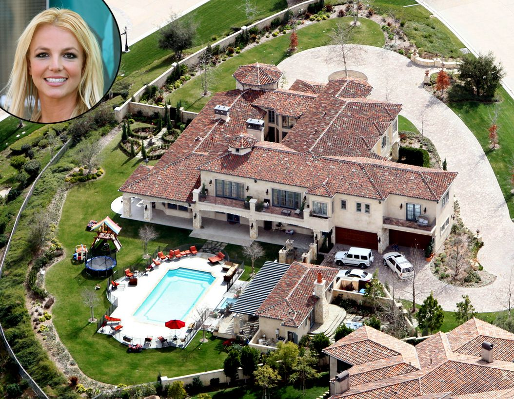 Celebrity Homes Britney Spears