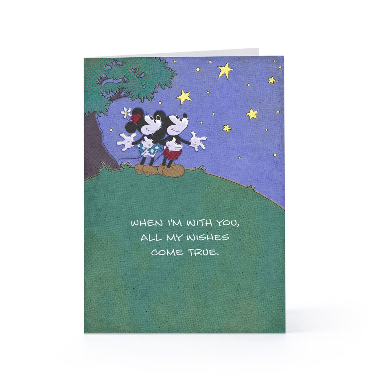 Wishes come true mickey minnie valentines day greeting card wishes come true mickey minnie valentines day greeting card hallmark bookmarktalkfo Images