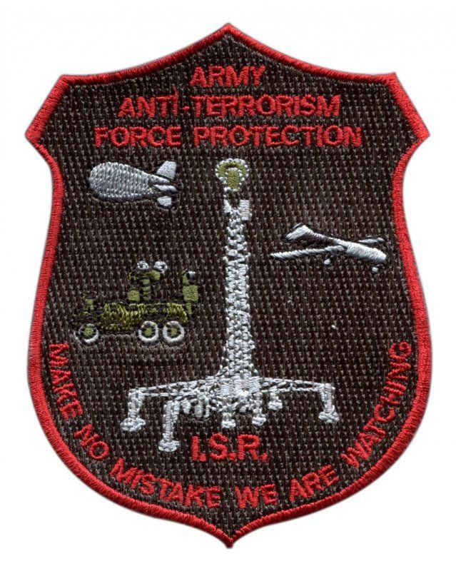 Cool Army Anti Terrorism - Embroidered Patch
