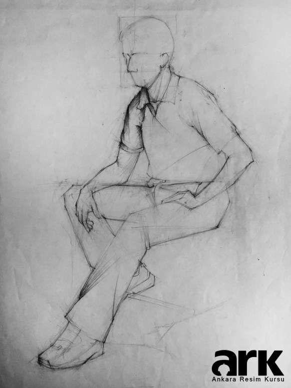 Desen Ve Imgesel çalışmaları Figüre Drawing Art Sketches Figure