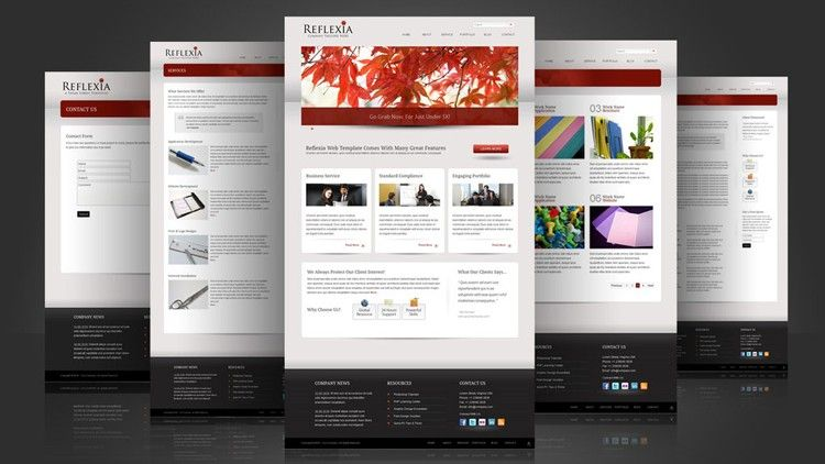 20 free best business html website templates templates 20 free best business html website templates accmission Gallery