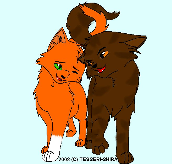I Ship Brambleclaw And Squirrelflight Warrior Cats