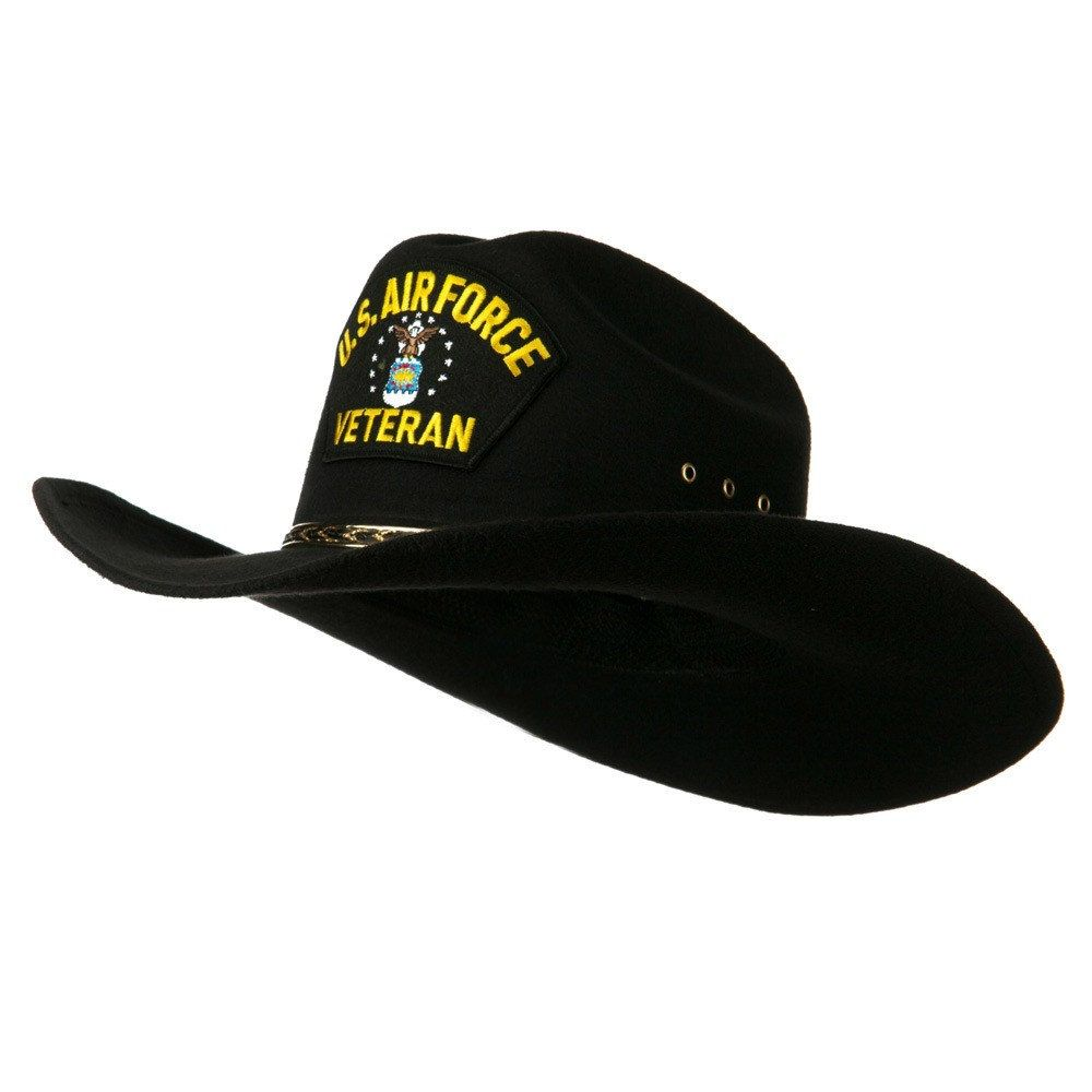 6e1a17c842b Air Force Veteran Cowboy hat by IDIG on Etsy