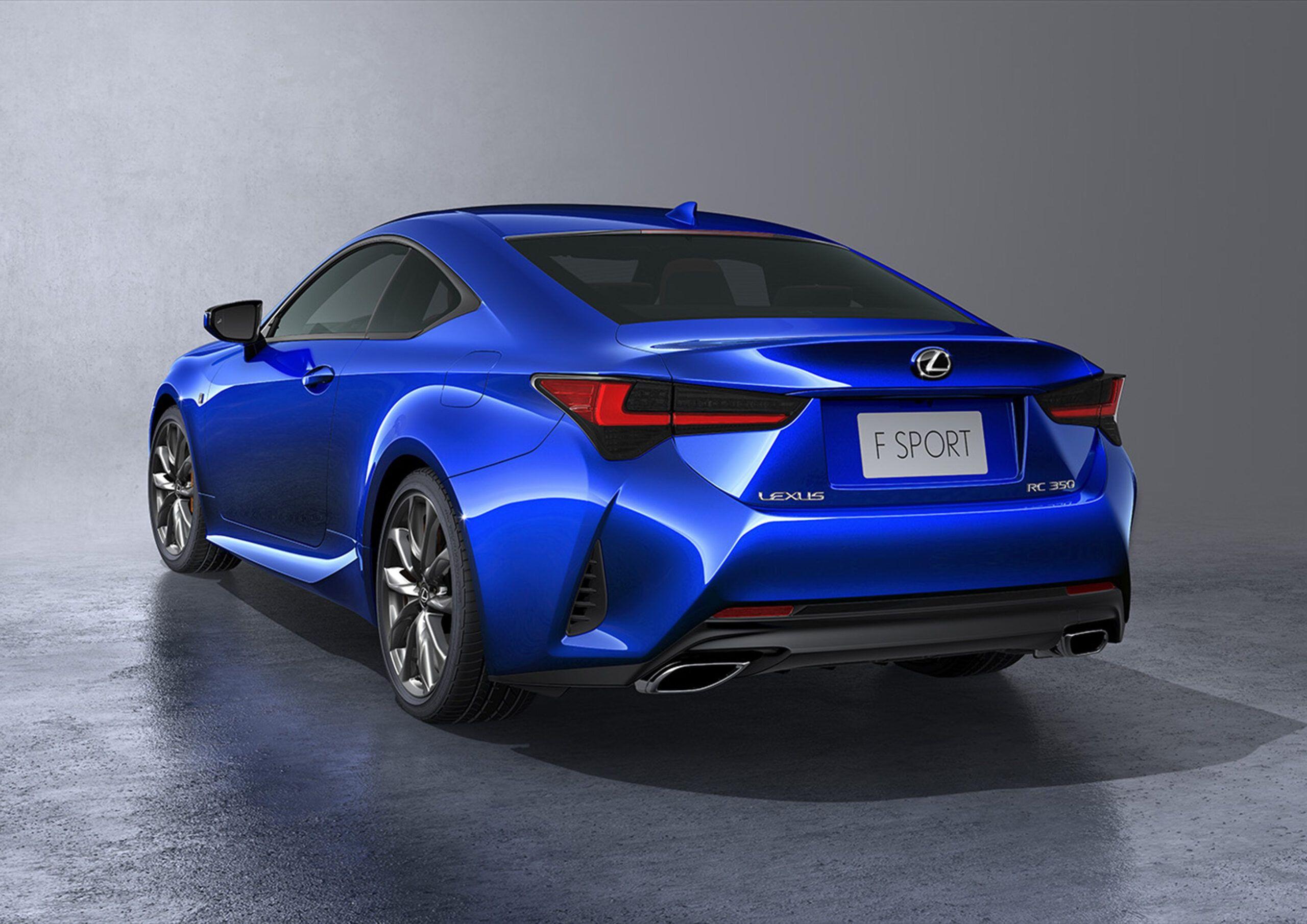 Lexus Rc 2020 First Drive di 2020